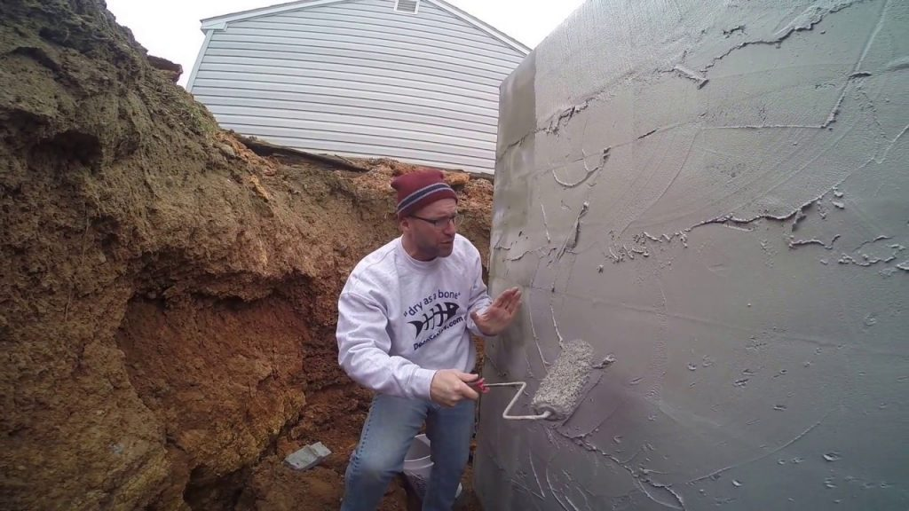 Bourbonnais basement waterproofing