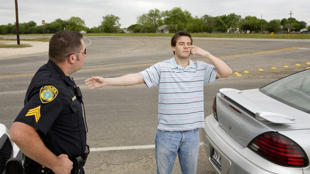 Dallas, TX field sobriety test