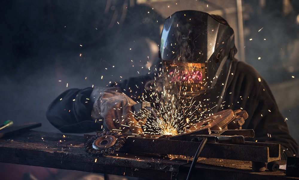 manual welding services