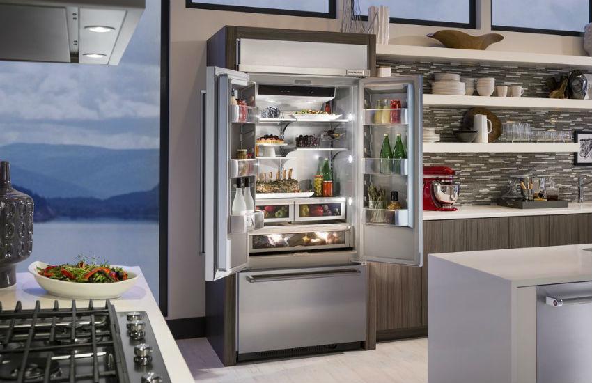 premium refrigerator shopping
