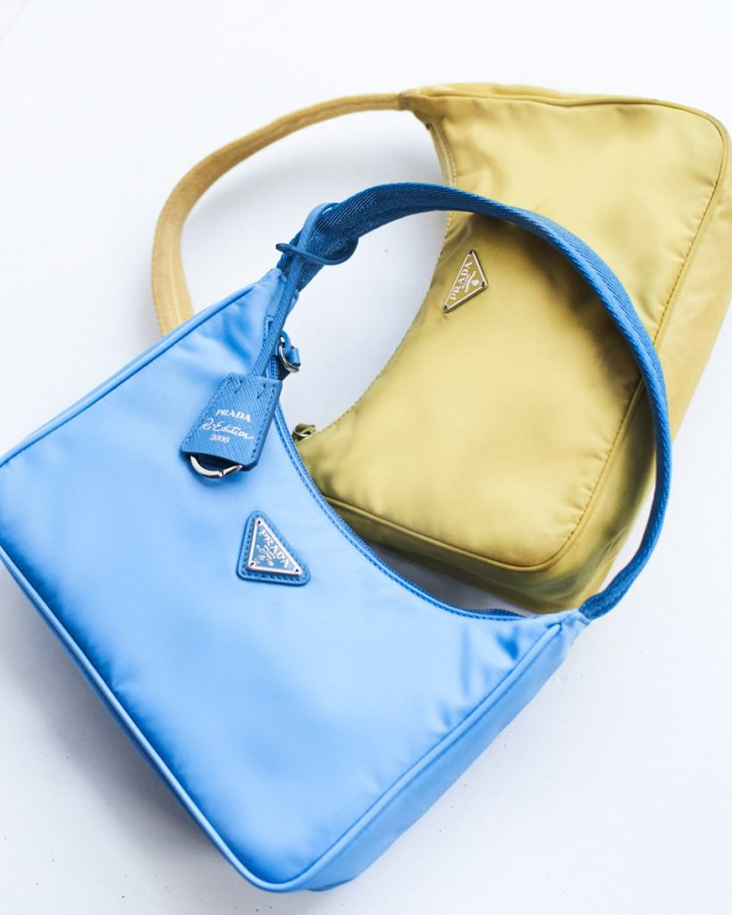 Prada Nylon Reinvention purse